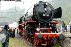 DRG BR 01 202 'Pacific' by SwissTrain