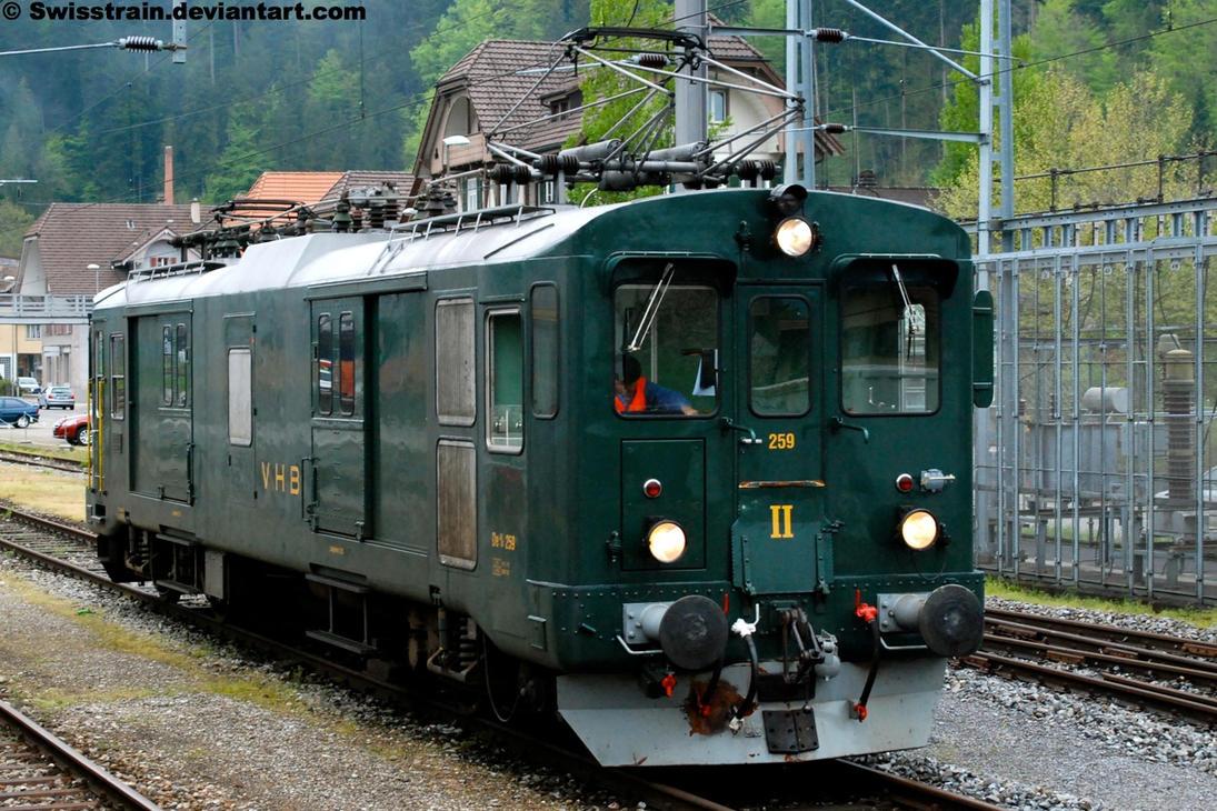 VHB De 4-4 No.259 by SwissTrain