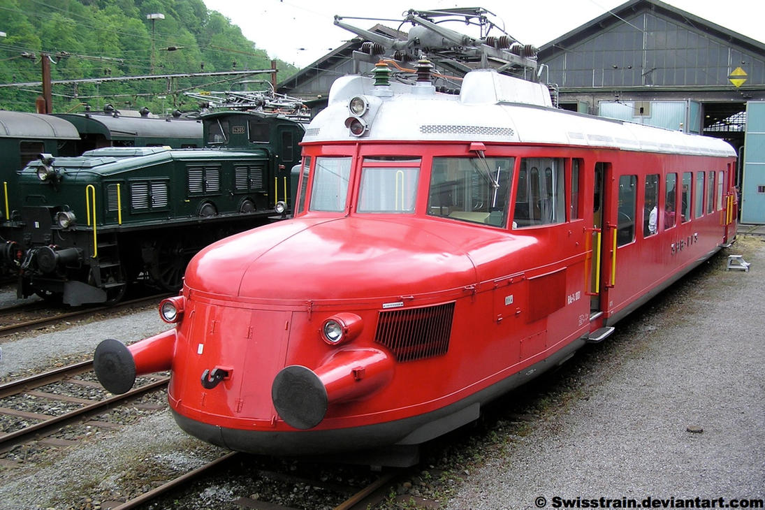 SBB RAe 2/4 1001 'Red Arrow' by SwissTrain