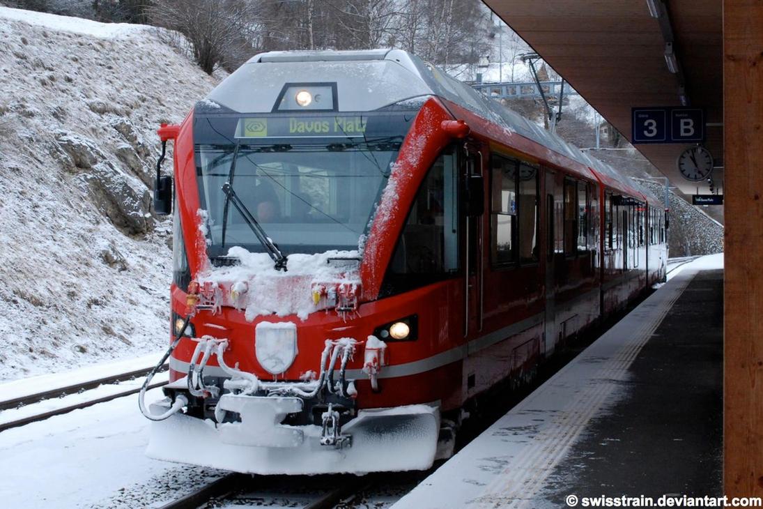 RhB ABe 8-12 Allegra 3503 by SwissTrain