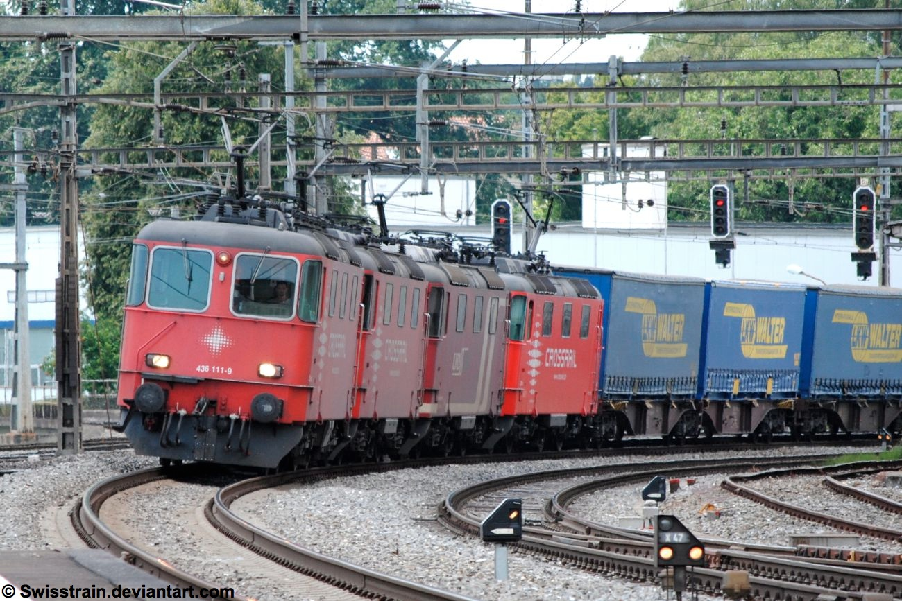 Crossrail Quadruple by SwissTrain