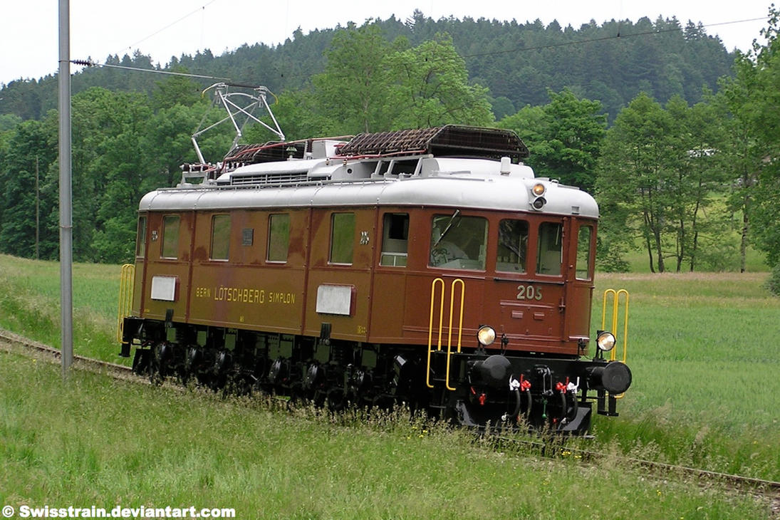 BLS Ae 015 205 by SwissTrain