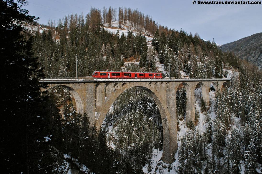Wiesener Viadukt by SwissTrain