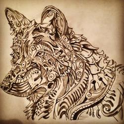 Wolf by AshleighGodkin