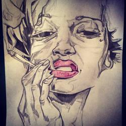 Smoker by AshleighGodkin