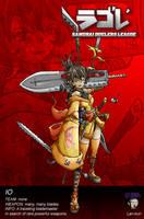 The blademaster by lan-kun