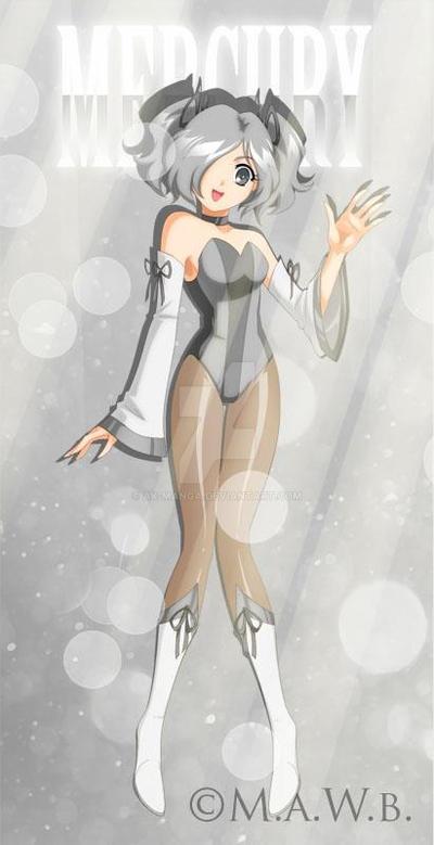 Drachea Rannak Commission - Mercury by AK-Manga