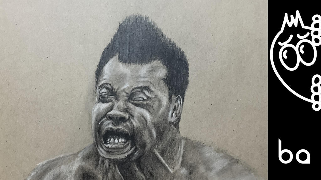 High Diver - Drawing Face by artofbob