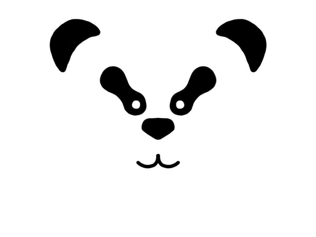 Panda - Challenge: black  by artofbob