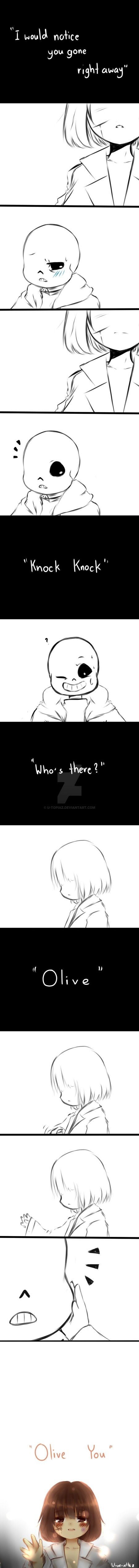 Undertale : Olive who? by TsurunagI