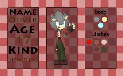 FC : Oliver The Hedgehog by MegaShaggy