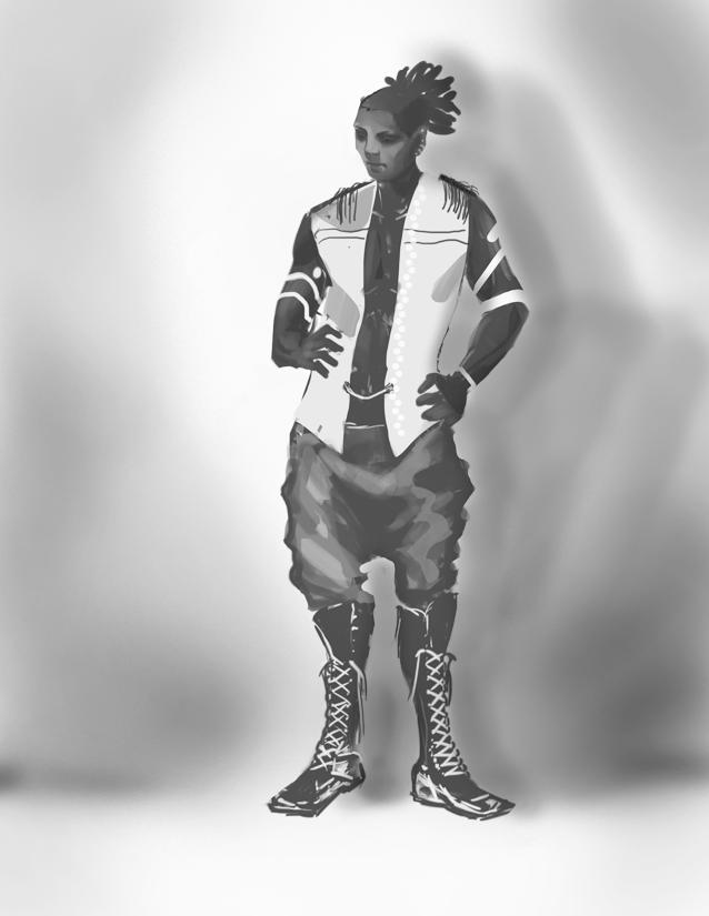 Sinbad- Character Art