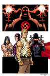 Pulp Heroes by scottygod-Color