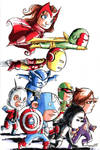 The Avengers by Evilwabbit
