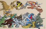 The Godzilla Universe-FunkYeti