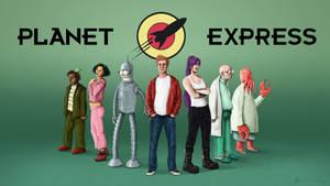 Futurama fanart : Planet Express Team