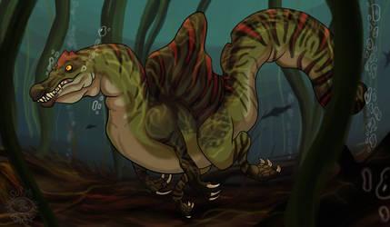 Cretaceous swamps