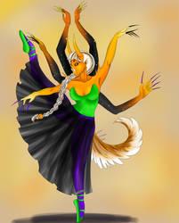Spooky Scary Ballerina