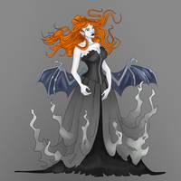 Creepy Goth Lady