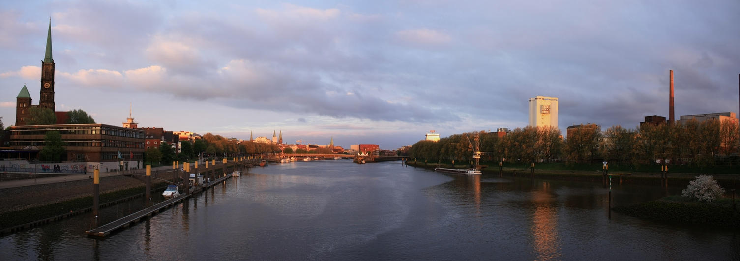 weser river in bremen by mar1anm on deviantart. Black Bedroom Furniture Sets. Home Design Ideas
