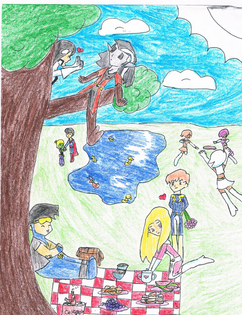 Legion Holiday at the Park by littlehobbitdancer