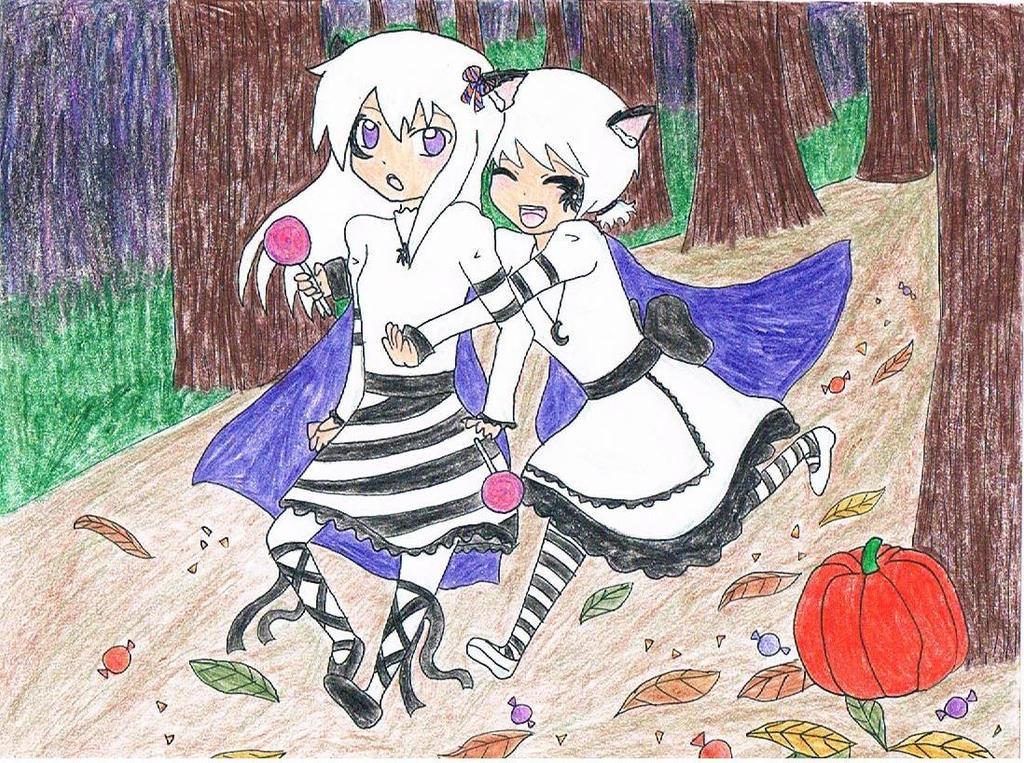 Happy Halloween by littlehobbitdancer