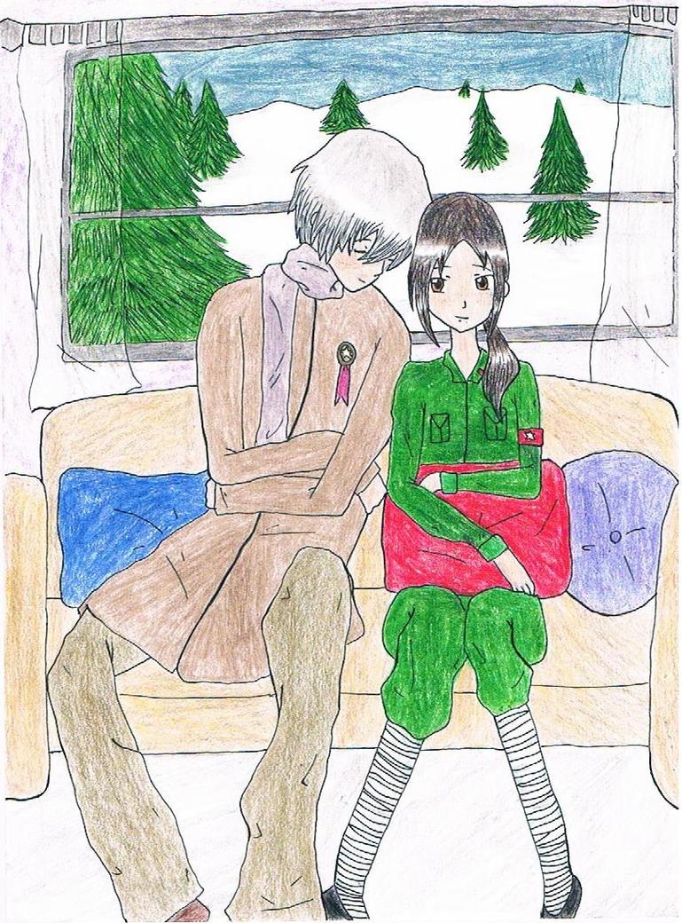 Winter Cuddles by littlehobbitdancer