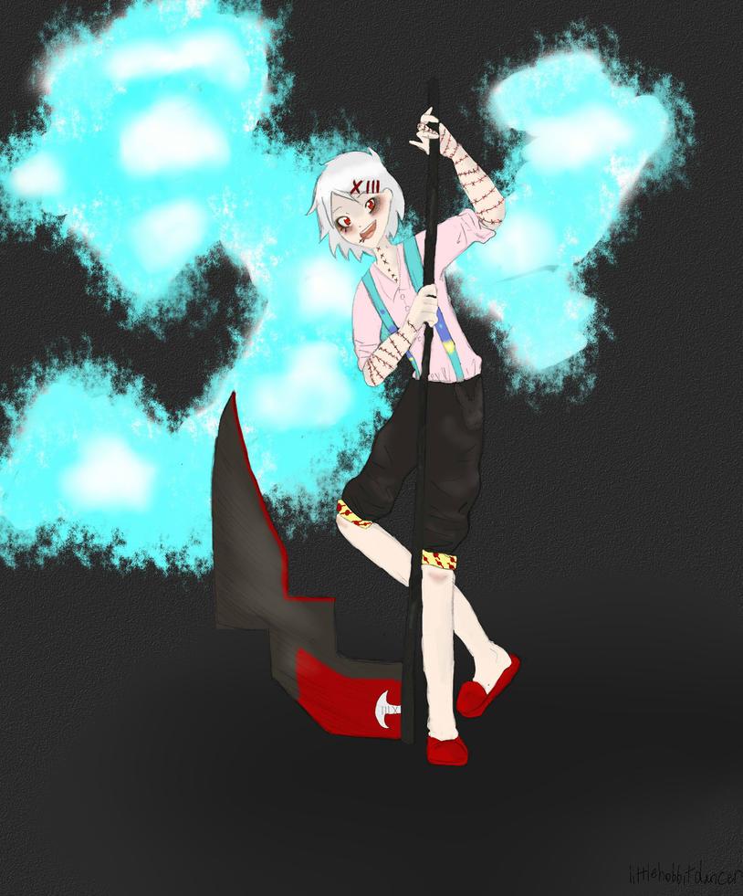 Juuzou by littlehobbitdancer