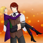 Terence x Alois by kikitchii by SpiritAmong-Darkness