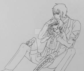 My New Demon - Terence x Alois (WIP) by SpiritAmong-Darkness