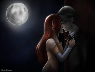 Stolen Kiss - William x Serena by SpiritAmong-Darkness