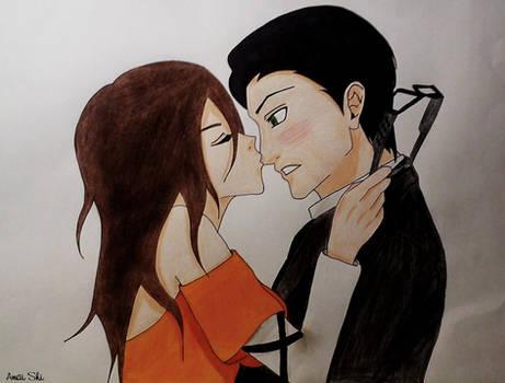 Nose Kiss - William x Serena