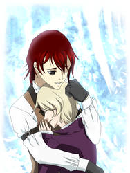 Terence x Alois Consoling by SpiritAmong-Darkness