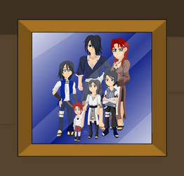 Uchiha Family by CrossCountryLover48 by SpiritAmong-Darkness