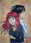 Sasuke x Akari by Milli1850