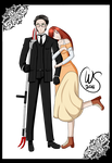 William x Serena by Wolven-Sorceress