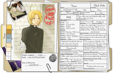 Vernon's Reaper File by SpiritAmong-Darkness