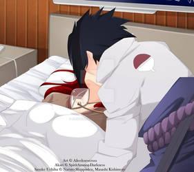 Sasuke x Akari by AliceKuroCross by SpiritAmong-Darkness