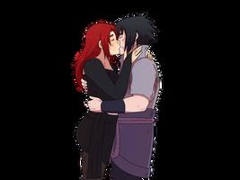 Sasuke x Akari YCH by JustSher