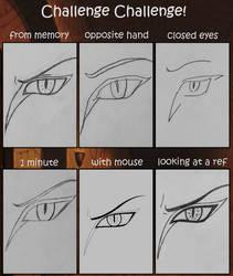 Challenge Challenge Meme - Orochimaru's Eye