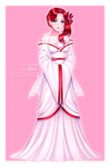 Akari Wedding Dress by DepressiveRami by SpiritAmong-Darkness