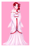 Akari Wedding Dress by DepressiveRami by SpiritAmong-Darkness