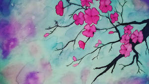The cherry blossoms of spring...