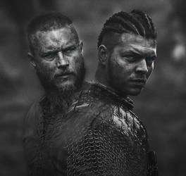 Vikings-Ragnar and Ivar