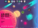 Rainmeter | Space | Pixelly #1