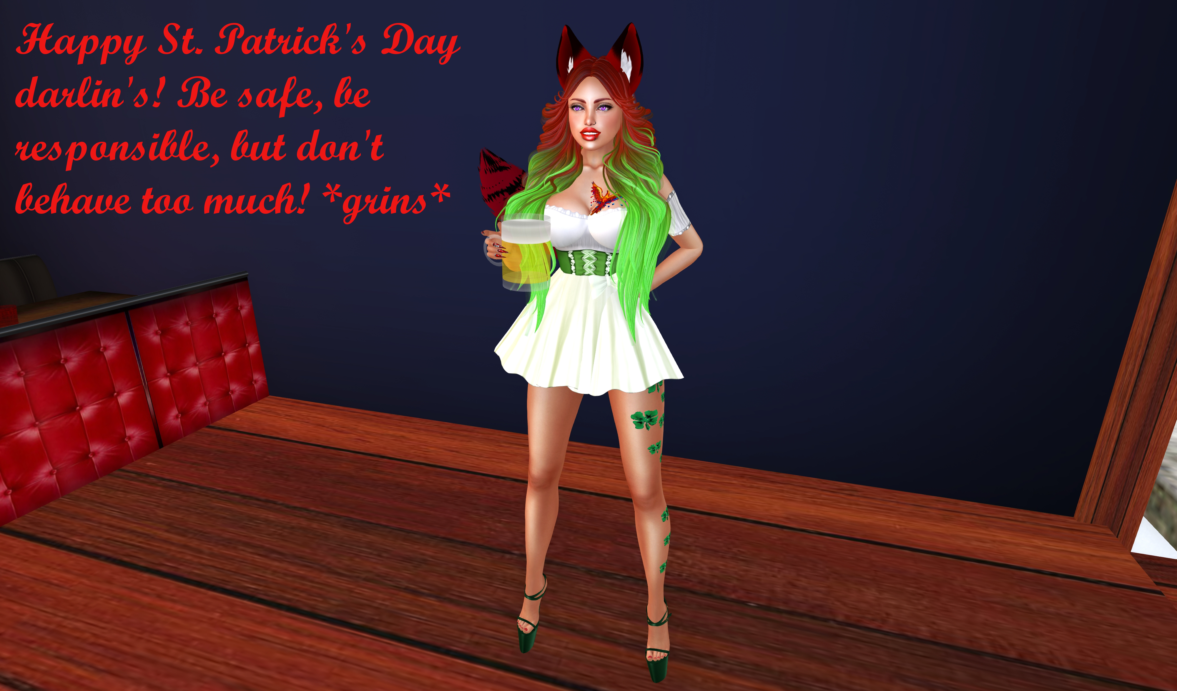 Happy St. Patrick's Day!!! by Mistress--Phoenix
