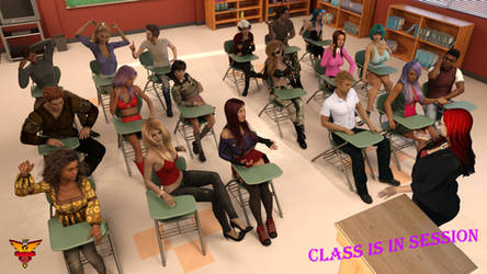 Class is in session (Now available on Gumroad!) by MPCreativeArts