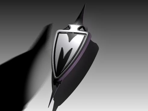 M Logo 3d 3D M logo desktop wallpaper by