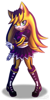 Shade Dark The Hedgehog by DarkShadeDemon