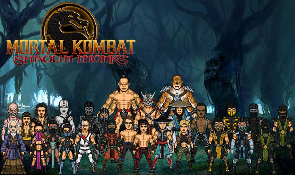 Mortal kombat shaolin monks kitana
